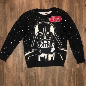 Star Wars Darth Vader Christmas Sweater SZ Medium